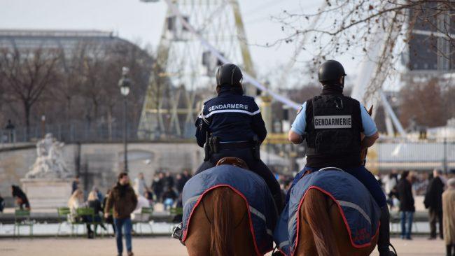 Nationale Gendarmerie in Paris