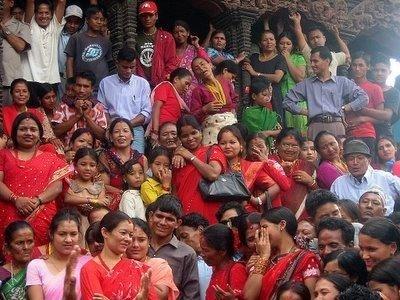 Gente de Katmandu, Asia