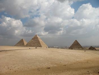 giza y piramides