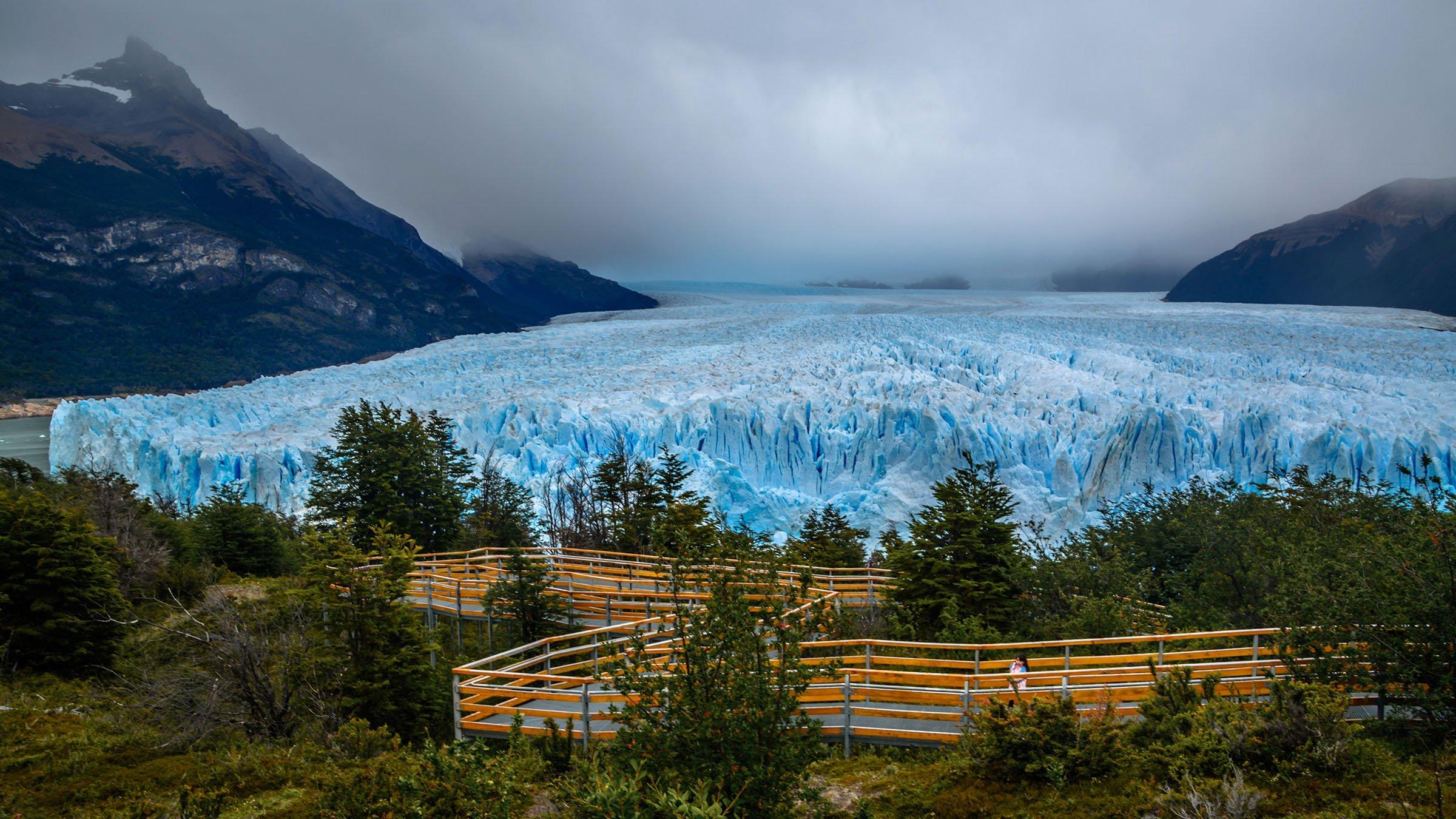 Glaciar Perito Moreno: un paisaje congelado en Argentina