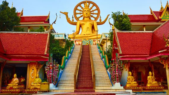 Gran Buda de Ko Samui en Tailandia