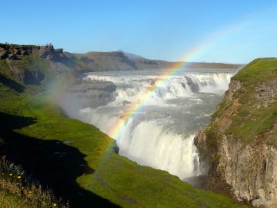 Gullfoss en Islandia