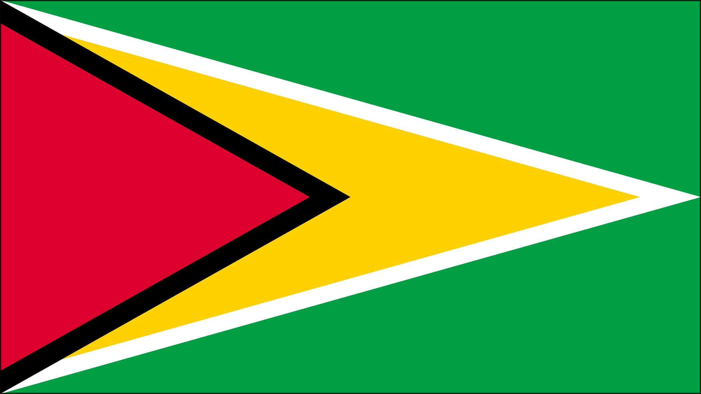 Guyana y su bandera oficial 7c39af7feabca