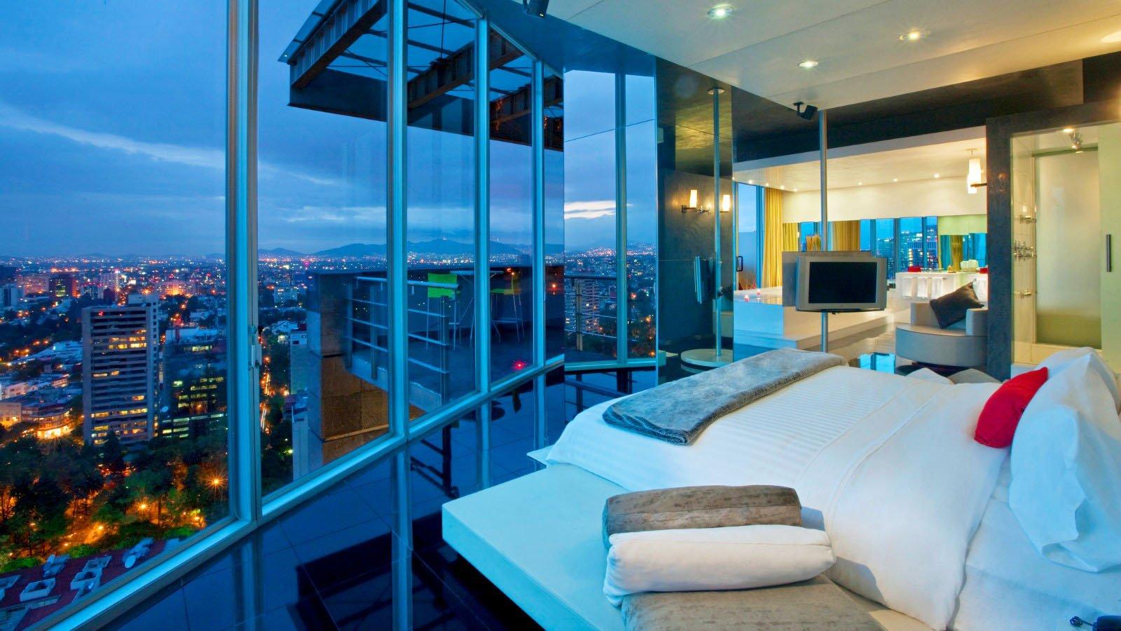 Habitaci n del w mexico city con vistas privilegiadas - Piscina dentro de la habitacion ...