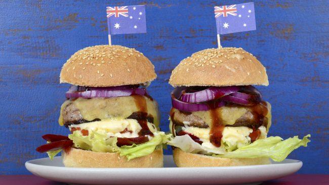 Hamburguesas al estilo australiano