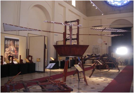 Helicóptero de Leonardo da Vinci