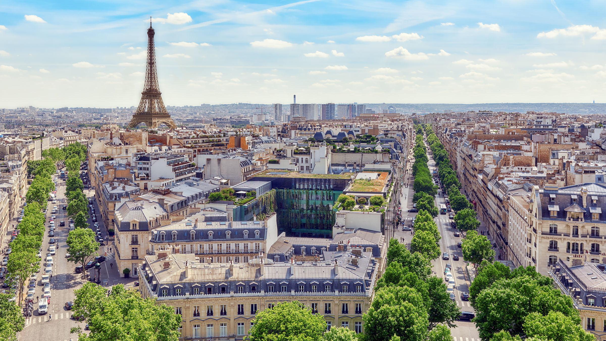 historia de paris paisaje