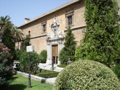Plano del Hospital Real de Granada