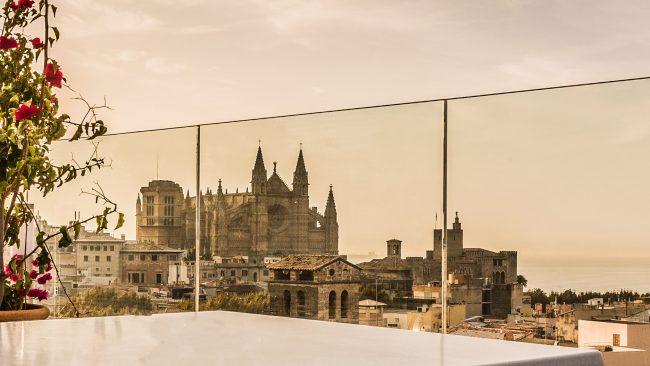 Vistas de la Catedral de Palma desde el Hotel Almudaina