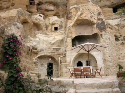 Hotel-cueva, Capadocia