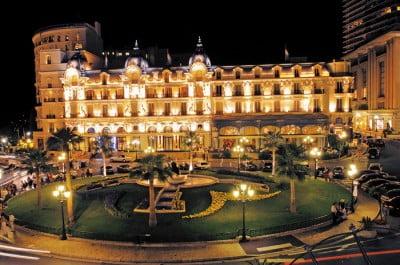Hotel de París en Mónaco