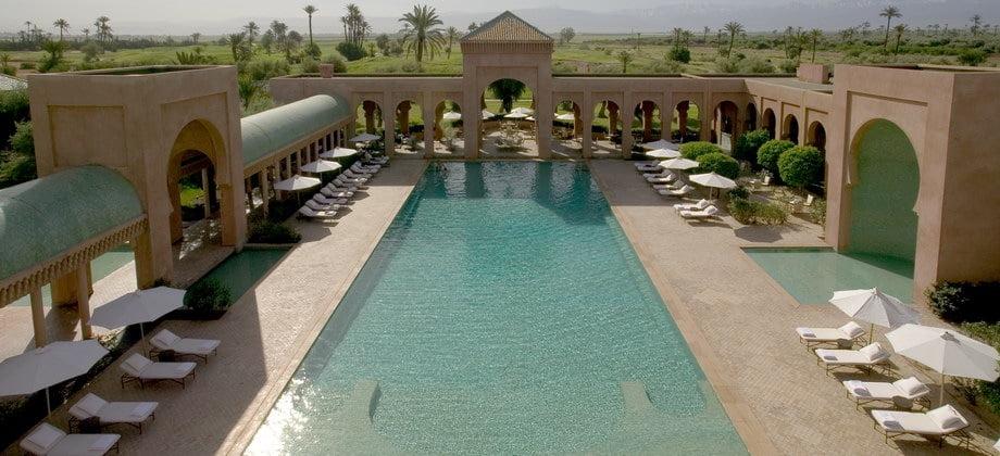 Hotel de lujo en Marruecos