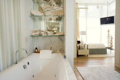 hotel ritz habitación con baño