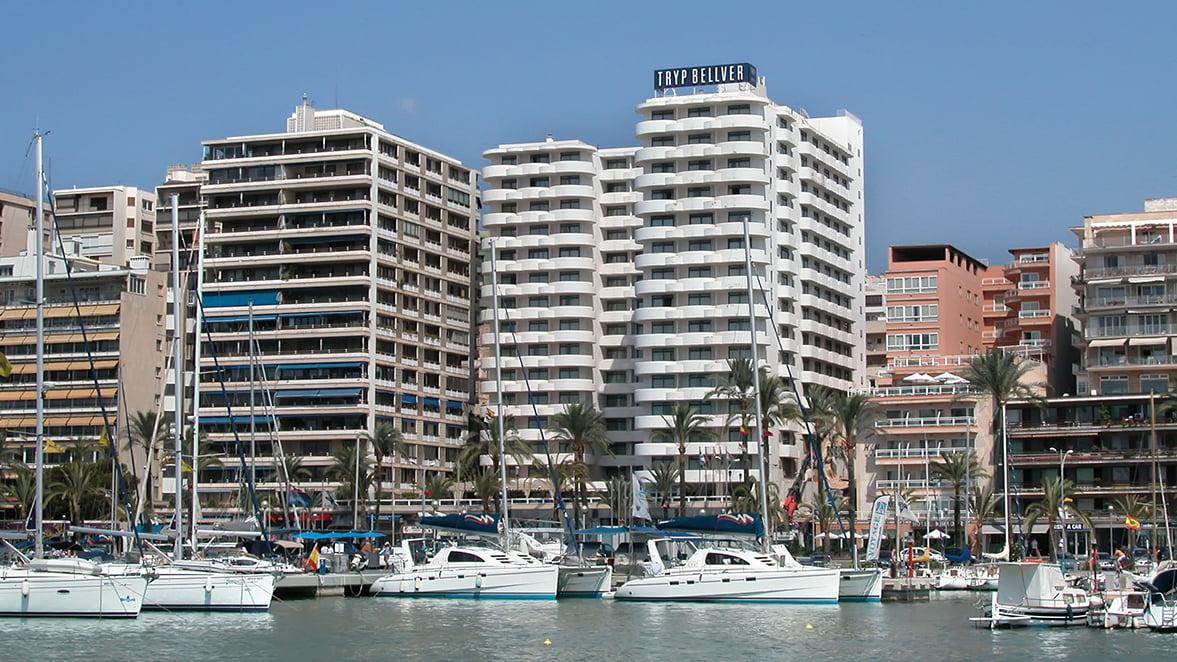 Tryp palma bellver hotel palma de mallorca for Hotel palma de mallorca