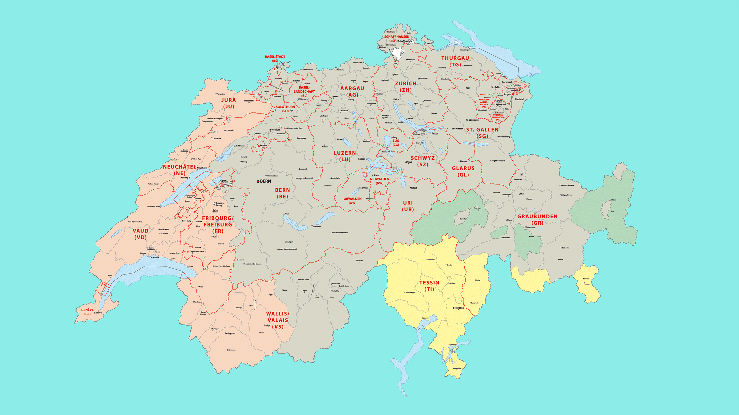Idiomas de Suiza