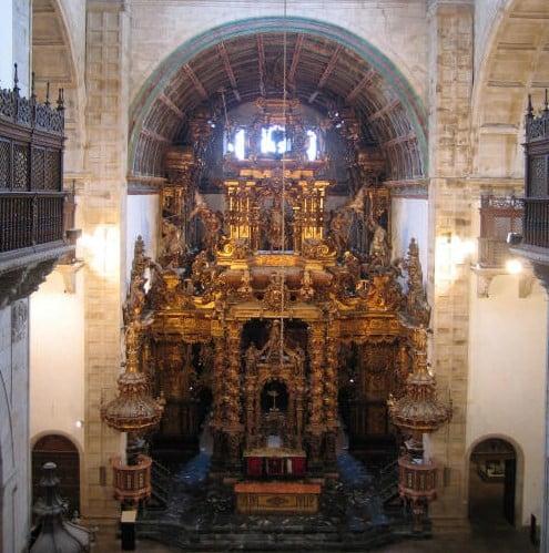Iglesia de San Martín Pinario