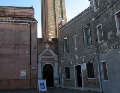 Iglesia de San Martino en Burano