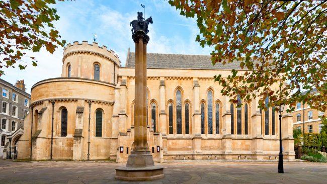 Iglesia del Temple, en Londres