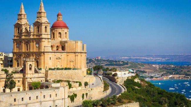 Iglesia parroquial de Mellieha, Malta