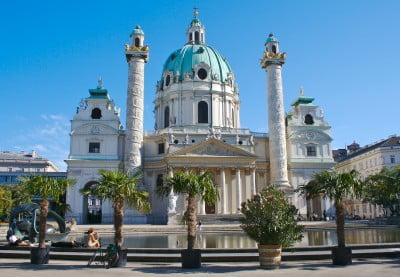 Iglesia de San Carlos en Viena