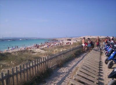 Illetes en Formentera