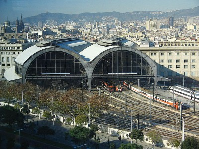 Imágen de la Estación de Francia en Barcelona