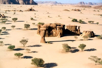Imágenes de Chad Montañas Ennedi