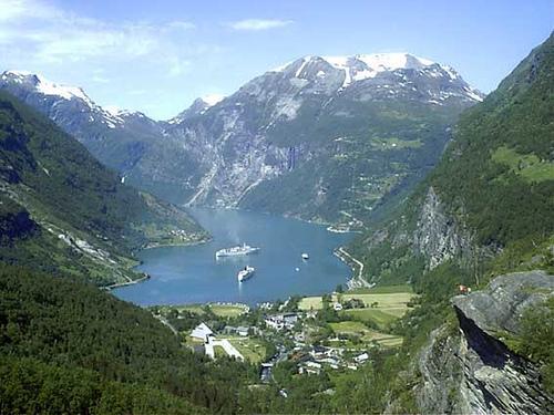 Increibles imagenes de Fiordos de Noruega