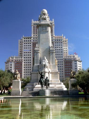 Recorriendo las Estatuas de Madrid