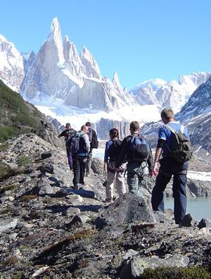 Imagenes de Trekking en el Chalten