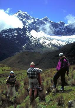 Fotos del Trekking en los Alpes Andinos, en Sur America