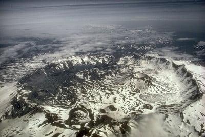imagenes de volcanes caldera del volcán Aniakchak