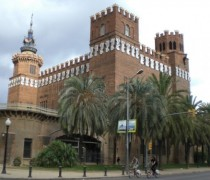 Castillo de los Tres Dragones en Barcelona