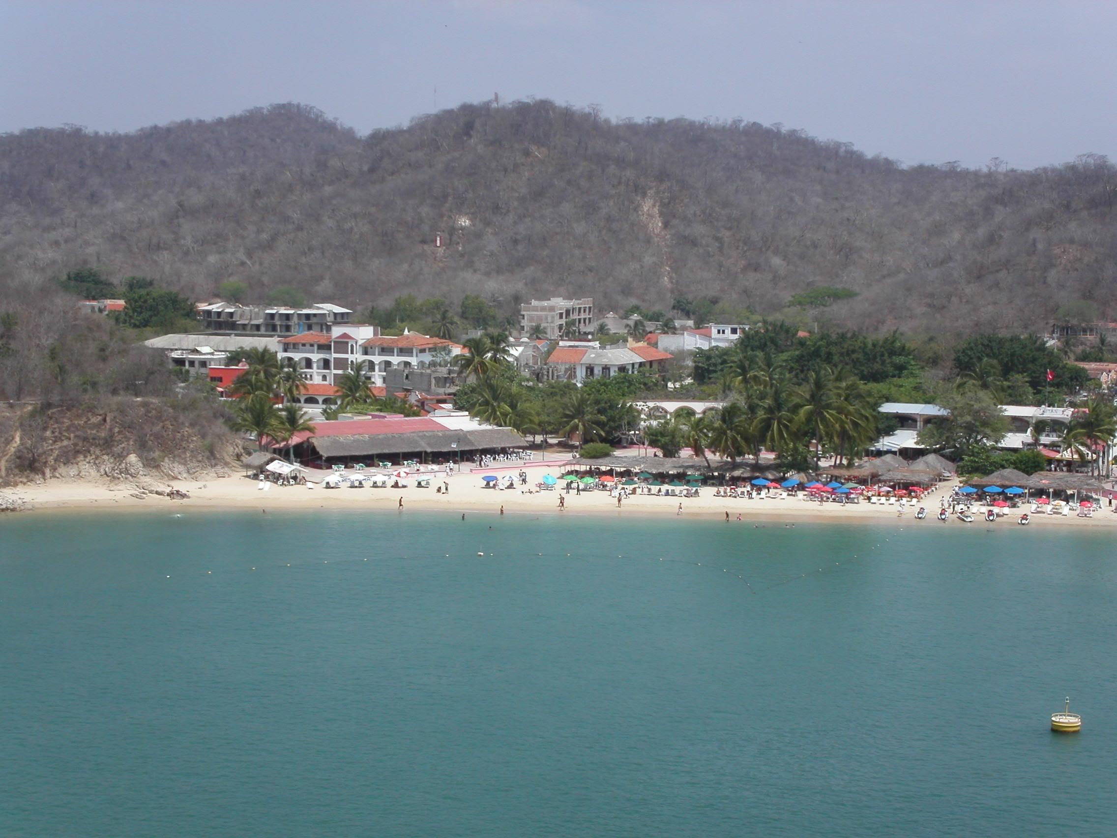 Imágenes de playas de Huatulco