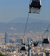 Imagenes Teleferico de Montjuic Barcelona