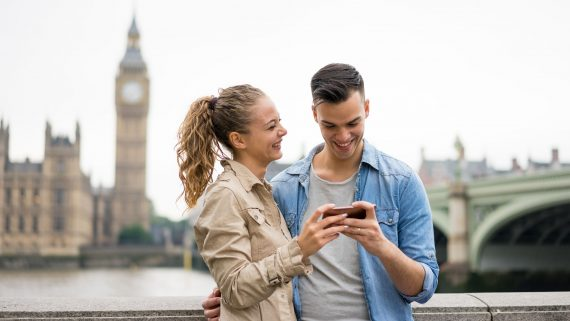 Información sobre el tiempo de Londres en tu móvil