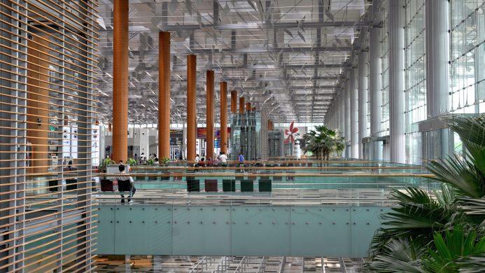 Infraestructura del Aeropuerto de Changi (Singapur)
