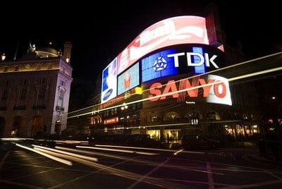 Inglaterra Piccadilly Circus Londres