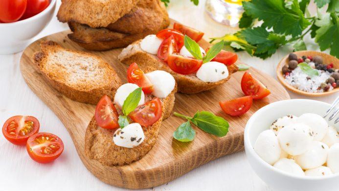 Ingredients of the Mediterranean diet