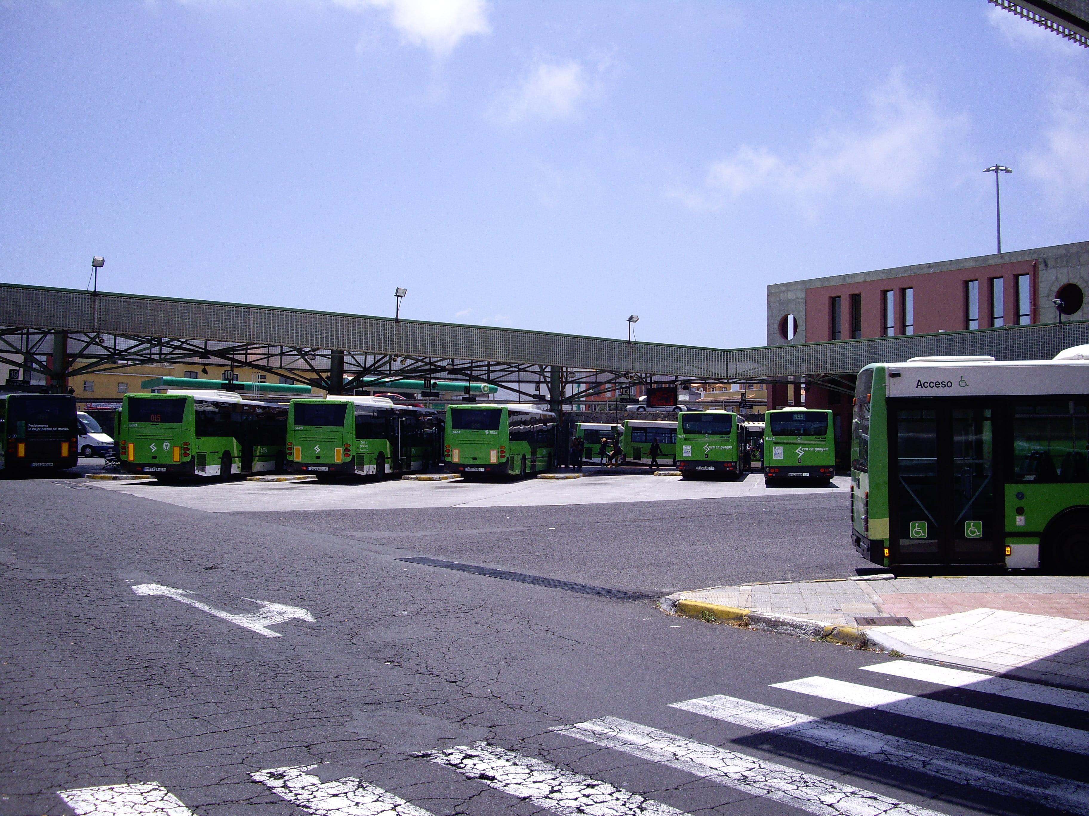 Intercambiador de transporte de La Laguna