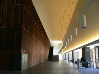 Interior del Baluarte en Pamplona