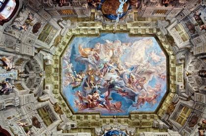 Interior del Belvedere