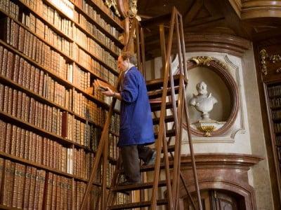 Interior Biblioteca Nacional de Austria