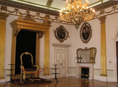 Interior del Castillo de Dublín