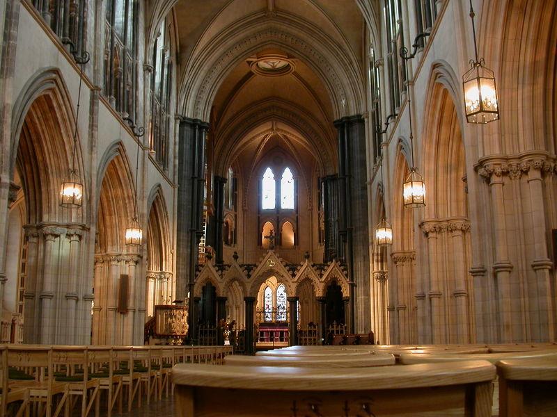 Interior de la Catedral Christ Church