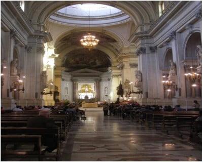 Interior de la Catedral de Palermo