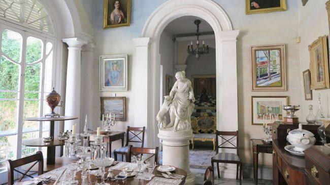 Maltako Valletta-ko Casa Rocca Piccola-ren barrualdea