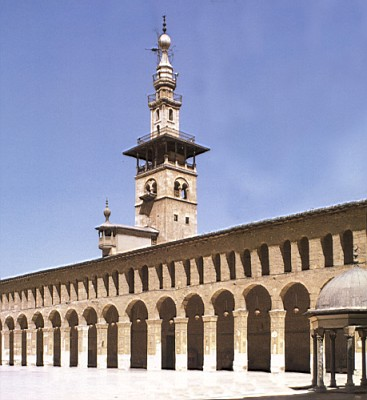 Interior de la Gran Mezquita