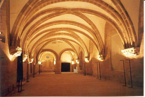 Interior del Palacio de Gelmírez