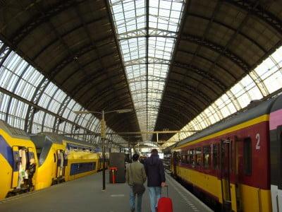 Interior de la Estacion Central de Ámsterdam